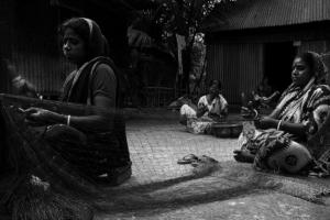 15_fishemen of Padma River_Black n White_Photo_Landscape_Portrait_Noor Alam_Dhaka_Bangladesh